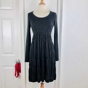 Calvin Klein Gray Sweater Dress M Medium